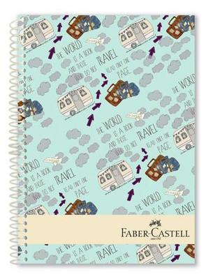 Faber-Castell Seyahat Sert Kapak Seperatörlü  Defter 200YP  5075400510