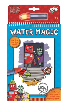 Galt Water Magic Sihirli Kitap Robotlar 3 Yas+ 1004402
