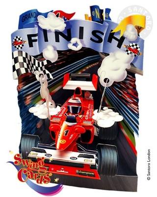 Santoro Gc-Swing Cards-Racing Car Sc056