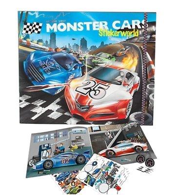 Depesche Monster Cars Sticker (Dk06244)