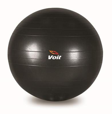 Voit Gymball 75 Cm Siyah Pompalı