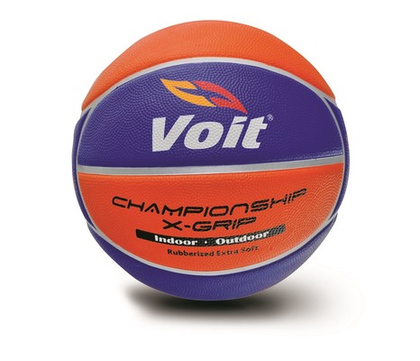 Voit Xgrip Basketbol Topu No:7 Sarı-Lacivert