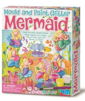 Mould & Paint Glitter Mermaid / Işıltılı Denizkızı
