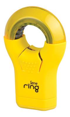 Serve Ring Silgili Kalemtiras Tekli Fosforlu Sari SV-RING1FS