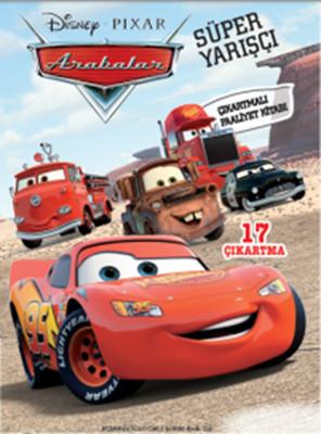 Disney Arabalar Süper Yarışçı Çıkartmalı Faaliyet Kitabı