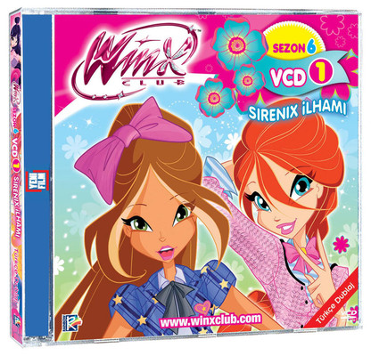 Winx Club Sezon 6 Bölüm 1-3 (VCD 1)