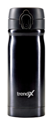 Trendix Çelik Içli Matara 350Ml Siyah (Termos Özellikli)