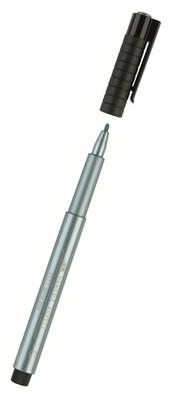 Faber Pitt Çizim Kalemi, Metalik Mavi   5188167392