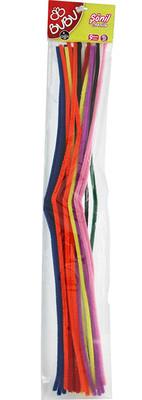 Bu-Bu  Sönil 50Cm 9 Renk 25'Li Bubu00105
