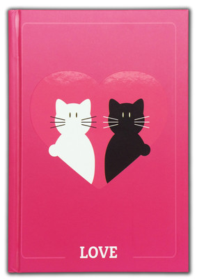 Lover Cats Defter (80 Yaprak, 14*20 Cm)