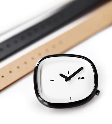 Nava Stone 42mm Beyaz Kol Saati Hediyelik Set O480W