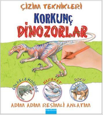 Çizim Teknikleri - Korkunç Dinozorlar