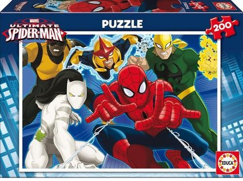 Educa Çocuk Puzzle 200 Ultimade Spider-Man 15641 Karton