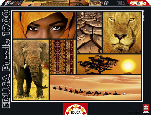 Educa Puzzle Colours Of Africa 1000 Parça 16293