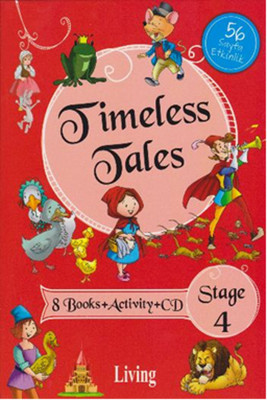 Stage 4 - Timeless Tales 8 Books + Activity + CD