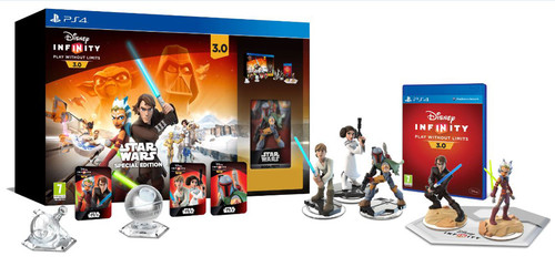 Disney Infinity 3.0 Star Wars Starter Pack Collector Edition PS4