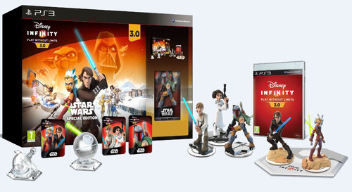 Disney Infinity 3.0 Star Wars Starter Pack Collector Edition PS3