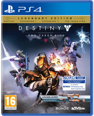 Destiny the Taken King D1 Edition PS4