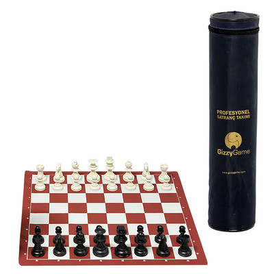 Gizzy Game Profesyonel Satranç Takımı (Küçük Boy) Gz-10002