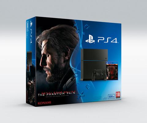 Sony PS4 500GB + Metal Gear Solid V