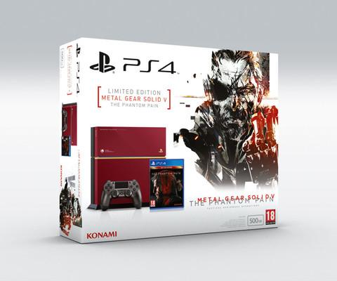 Sony PS4 500GB + Metal Gear Solid V Spc. Ed.
