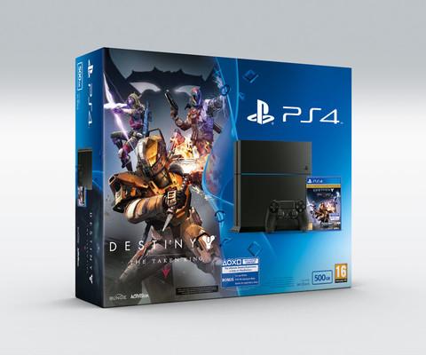 Sony PS4 500GB + Destiny TTK