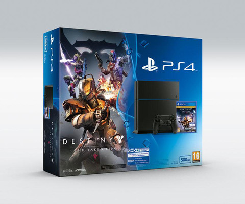 Sony PS4 500GB + Destiny TTK spc ed