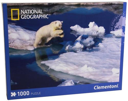 Clementoni 1000 Parça Puzzle Nat Geo - Polar Bear 39304