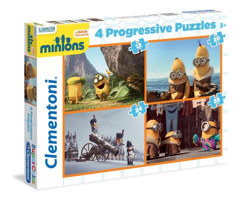 Clementoni Puzzle 4In1 Minions 21511