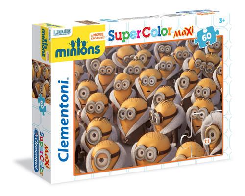 Clementoni Puzzle 60 Maxi Minions 26748