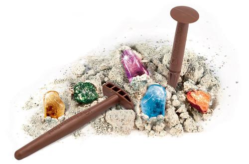 Clementoni Arkeolojik Kazi Seti - Kayalar Ve Mineraller (7Yas+) 64591
