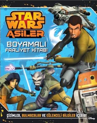 Starwars Asiler Boyamalı Faaliyet Kitabı