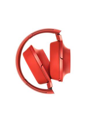 Sony Kafaüstü Kulaklık Premium Kırmızı HI-RES MDR 100AAPR