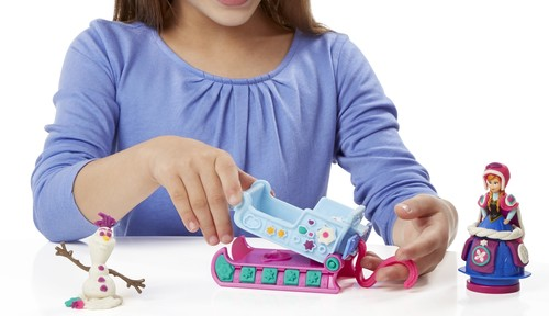 Play-Doh Frozen Sled B1860