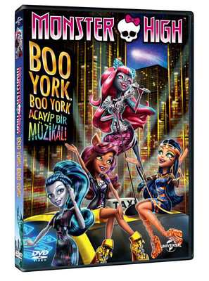 Monster High: Boo York, Boo York Acayip Bir Müzikal