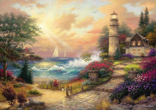 Anatolian Sahil Düsleri / Seaside Dreams  1500 Parça 4539
