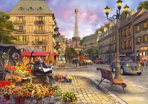 Anatolian Paris Sokaklari / Paris Street Life 1500 Parça 4542