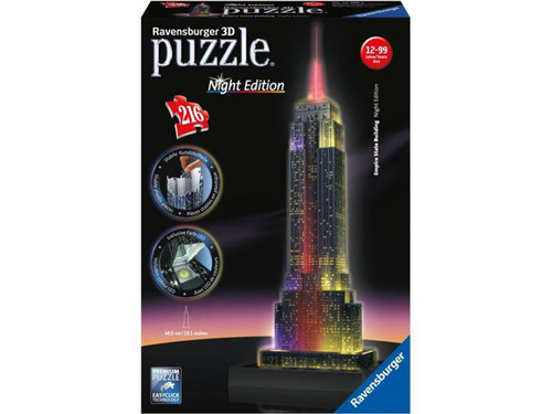 Ravensburger 3D Puzzle Empire State-Night RPB125661