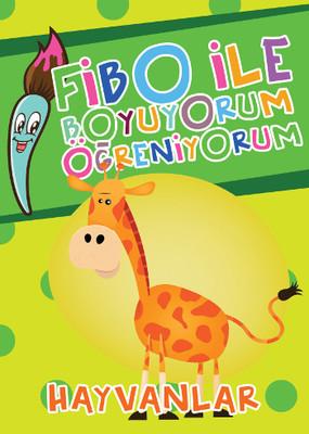 Fibo ile Boyuyorum Öğreniyorum - Hayvanlar