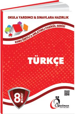 8. Sınıf Türkçe Konu Anlatımlı Fasikül Serisi