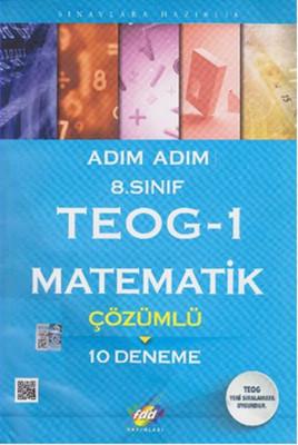 FDD 8. Sınıf Adım Adım TEOG-1 Matematik Çözümlü 10 Deneme