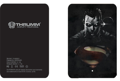 Thrumm Slim Design 4600mAh Powerbank-SM004
