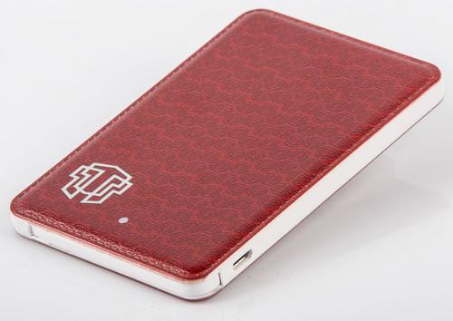 Thrumm Slim Design 4600 mAh Powerbank - Ruby