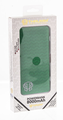Thrumm Slim Design 8000 mAh Powerbank - Emerald
