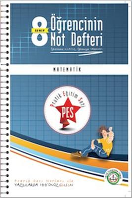 Anafen 8.Sınıf Pes Matematik Öğrencinin Not Defteri