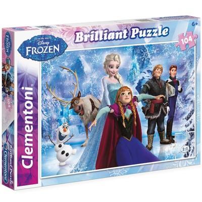 Clementoni Puzzle 104 Brilliant Frozen 20127