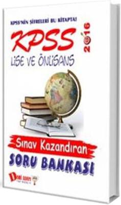 Dahi Adam KPSS Lise-Ön Lisans Sınav Kazandıran Soru Bankası 2016