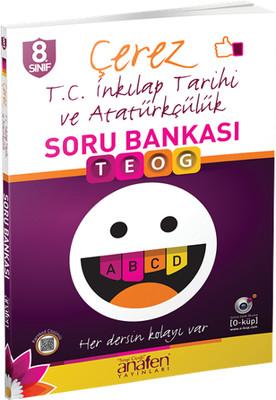 Anafen 8.Sınıf Çerez T.C. İnkılap Tarihi ve Atatürkçülük Soru Bankası