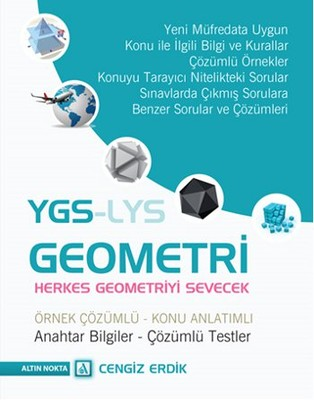 YGS - LYS Geometri Örnek Çözümlü Konu Anlatımlı