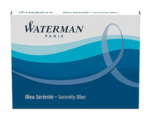 Waterman Kartus 8'li Mavi S0110860